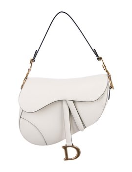 2018 Leather Saddle Bag W/ Tags by Christian Dior