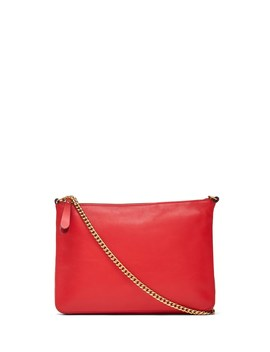 Italian Leather Chain Crossbody Bag by Banana Repbulic