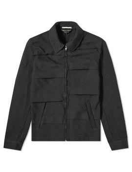 Comme Des Garcons Homme Plus Garment Treated Layered Zip Jacket by Comme Des Garçons Homme Plus