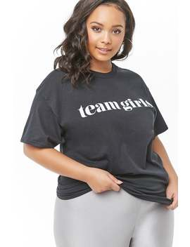 Plus Size The Style Club Team Girls Tee by Forever 21