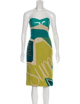 linen-midi-dress-w_-tags by burberry-prorsum