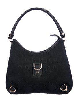 Gg Canvas Abbey Hobo by Gucci