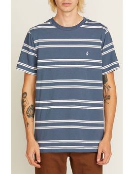 Volcom Beauville Striped T Shirt by Pacsun