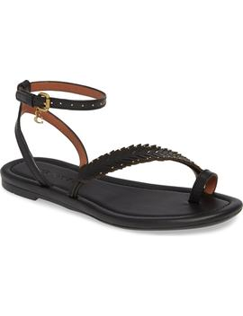 Lily Ankle Strap Sandal by Coach