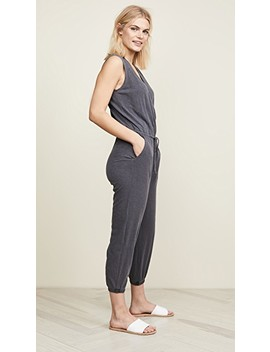 Wrap Jumpsuit by Sundry