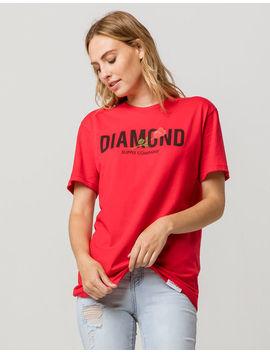 Diamond Supply Co. Rose Block Diamond Womens Tee by Tilly's