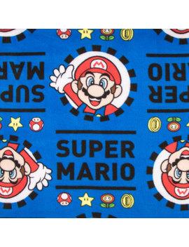 Super Mario Fleece Fabric by Hobby Lobby