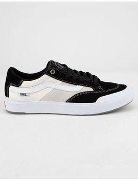 Vans Berle Pro Black & White Mens Shoes by Vans