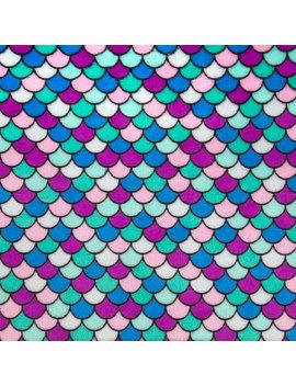 Mermaid Tail Fleece Fabric by Hobby Lobby
