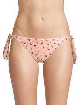 Poolside Melon Vacation Bikini Bottoms by Peony Swim