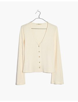 bell-sleeve-cardigan-top by madewell