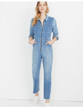 Madewell X Isko™ Pieced Denim Jumpsuit by Madewell
