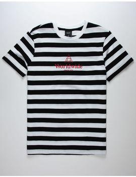 Huf Stripe Mens T Shirt by Huf