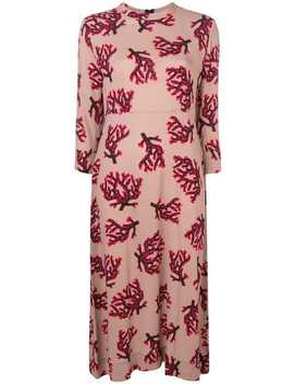 Branch Print Dress by Marni