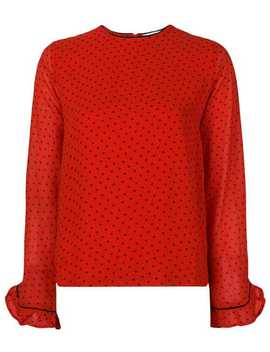 Polka Dot Blouse by Ganni