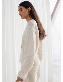 Cropped Cotton Cardigan by & Other Stories