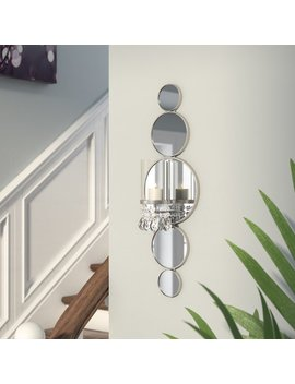 Mirrored Wall Sconce by Rosdorf Park