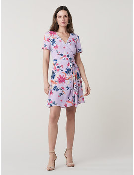 Savilla Mini Wrap Dress by Dvf