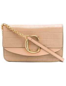 C Chain Clutch by Chloé
