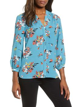 Back Pleat Blouse by Gibson