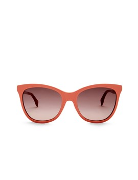 Cat Eye 55mm Sunglasses by Fendi