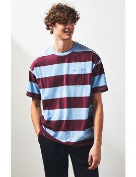 Pac Sun Kand Stripe Pocket Regular T Shirt by Pacsun