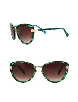 55mm Petite Cat Eye Sunglasses by Oscar De La Renta
