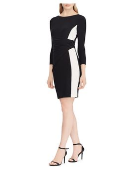 Color Block Jersey Dress by Lauren Ralph Lauren