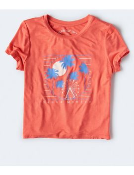 Seriously Soft Santa Monica Graphic Girl Tee by Aeropostale