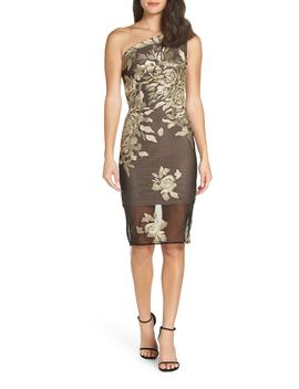 Golden Rose Sheath Dress by Bronx And Banco