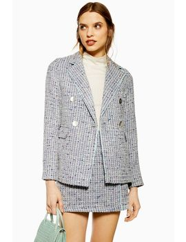 Button Boucle Jacket by Topshop