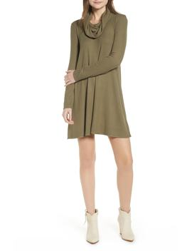 Maddie Cowl Neck Swing Dress by Socialite
