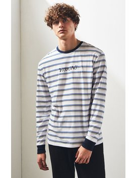 Pac Sun Darold Stripe Relaxed T Shirt by Pacsun