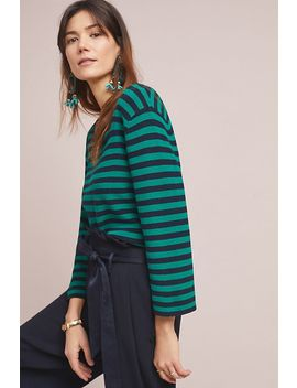 Resme Striped Pullover by Demy Lee