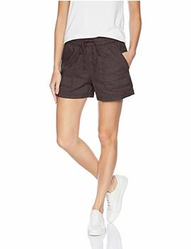 Daily Ritual Women's Stretch Linen Short by Daily Ritual