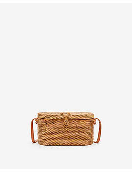 Street Level Woven Crossbody Bag by Express