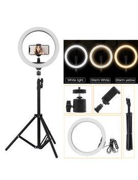 """12"""" Led Studio Ring Light Dimmable Light Photo Video Lamp Kit For Camera Shoot by Ebay Seller"""