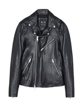 Armani Exchange Biker Jacket   Coats And Jackets by Armani Exchange