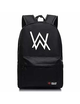 Alan Walker Faded Backpacks School Bag Bookbag For Kids Travel Laptops Backpack by Kk Jim