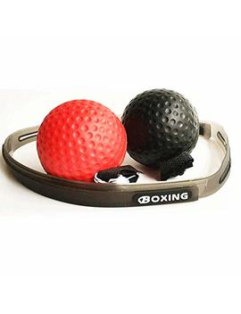 Sokey Boxaball, Reflex Ball Boxe,Fight Ball Reflex, Il Coordinamento, I Riflessi E L'abilità, 2 Livelli Di Migliora La Velocità Del Tempo Di Reazione, La Forma Fisica by Sokey