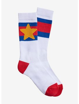 Steven Universe Varsity Steven Crew Socks by Hot Topic