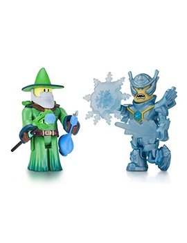 Roblox 10862 Emerald Dragon Master And Frost Guard General (Pack Of 2) by Roblox