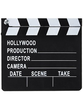 Hollywood Director's Film Movie Slateboard Clapper by Rhode Island Novelty