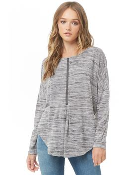 Marled Dolman Top by Forever 21