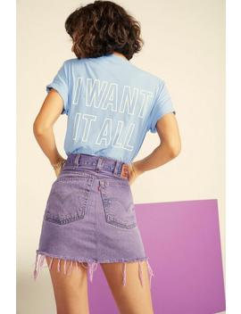 Nasty Gal Vintage I Want It All Relaxed Tee by Nasty Gal