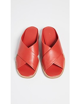 Fairley Slide Sandals by Vince