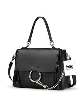 Normia Rita Womens Top Handle Shoulder Handbags Ring Bags With Chain Large Capacity Satchel Ladies Clutch by Normia Rita