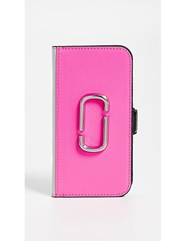Double J Folio I Phone 8 Case by Marc Jacobs
