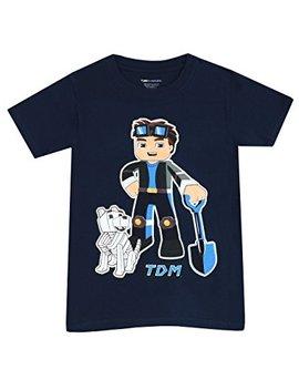 Tube Heroes Boys Dan Tdm T Shirt by Tube Heroes