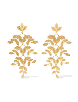 Gabriella Gold Vermeil Earrings by Mallarino
